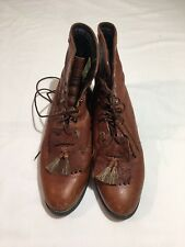 ARIAT womens Heritage Lacer II Double Kilted Roper Boot US Sz 9.5