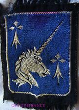 IN12815 - PATCH INSIGNE TISSU 20eme Division d'Infanterie