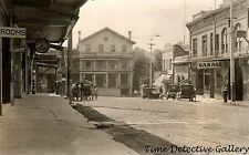 Main Street, Jackson, Amador County, California - c1910 - Historic Photo Print