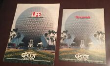 1982 Epcot Center Opening Newsweek & Life Special Advertising Supplement Disney