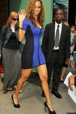 TORN BY RONNY KOBO Blue Caterina Dress As Seen On Celebrity Size S NWT $238