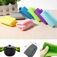 Silicone Heat Insulated Oven Casserole Ear Pot Holders Handle Anti-Hot Gloves
