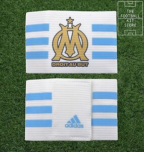 Adidas Captains Armband - Official Olympique Marseille Football Band - One Size