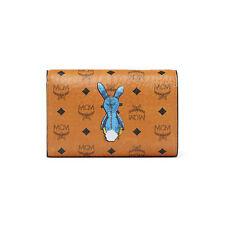 MCM Rabbit Bifold Wallet Coated Canvas Material MYM6AXL52CO Cognac Color