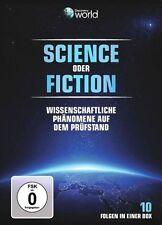 Discovery World  Science oder Fiction Doppel DVD NEU OVP