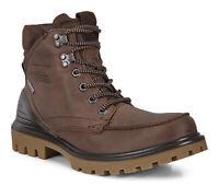 Ecco Men's Tredtray GTX Casual Hiking Leather Boots - Cocoa Brown Mocha