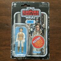 STAR WARS THE EMPIRE STRIKES BACK RETRO LEIA (HOTH) ACTION FIGURE 2020