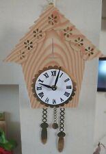 Handmade Card Cuckoo Clock With Working Mechanism