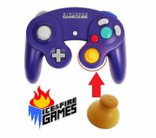 New Joystick Cap for Nintendo Gamecube Controller - Yellow (Right)