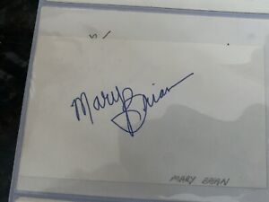 Walk of Fame Mary Brian Autographed Card A