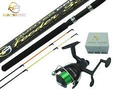 11ft Feeder Fishing Rod & HP50R Reel.  HUNTER PRO Composite Rod & Rear Drag Reel