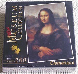 New Sealed Mona Lisa 260 piece Leonardo Da Vinci Museum Collection Jigsaw Puzzle