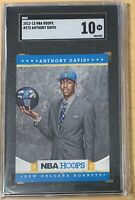 2012-13 Panini NBA Hoops #275 Anthony Davis RC Rookie SGC 10 NBA Finals Champ