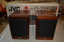 JVC SP-UX2000RGD Speaker Pair & Box ONLY for FS-2000GD CD Radio Stereo System