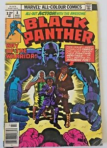 BLACK PANTHER.  NO.8. BRONZE AGE 1978.  VG .CONDITION. JACK KIRBY.
