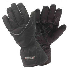 Rayven Alpha Hipora Waterproof Scooter Gloves Motorbike Motorcycle Gloves Black