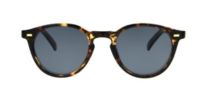 Foster Grant Easton Women's Polarized Sunglasses Round Tortoise with gold  NEW!