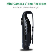 1080P HD Mini Camera Dash Cam Police Body Bike H.264 Camcorder Video Wide Angle