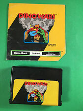 Dino Wars Video Game Cart & Manual Tandy TRS-80 Color Computer CoCo
