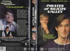 PIRATES OF SILICON VALLEY - Noah Wyle - VHS - PAL - Time Coded - Dealer Preview