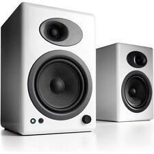Audioengine A5+ White Premium Powered Bookshelf Speakers (Pair)