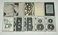 Lot of 10 Rare Early Nurse With Wound & F(r)iends Cassette Tapes. EXCELLENT.