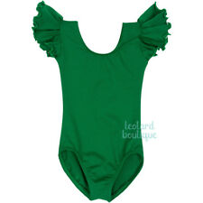 The Leotard Boutique Ruffle Sleeve Leotard for Infants, Toddlers and Girls