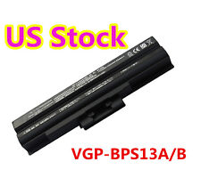 6 Cell Battery fr Sony Vaio VGP-BPS13 VGP-BPS13A VGP-BPL13 PCG-81214L PCG-81114L