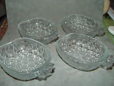 4 Pineapple Stackable Nappy Candy Nut Dish