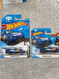 Hot Wheels Mazda Nissan Skyline Datsun RX7 MX5