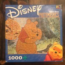 "Disney Photomosaics ""Pooh"" Jigsaw Puzzle Robert Silvers 1026 Pieces COMPLETE"