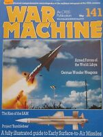 War Machine magazine Issue 141 Early Surface-to-air Missiles