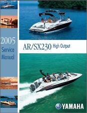 Yamaha AR230 / SX230 Jet Boat / Sport Boat Service Manual CD ---  AR SX 230 HO