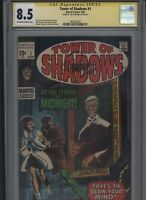 Tower of Shadows #1 CGC 8.5 SS Jim Steranko 1969 John Romita STAN LEE