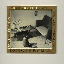1956 Finn Juhl DANISH DESIGN IN THE LIVING ROOM Kay BOJESEN Hans WEGNER Ditzels