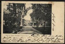 AK Trinidad Tobago Port of Spain Brunswick Square One Penny La Brea Berlin 1903