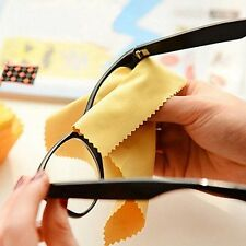 10X Square Cleaning Cloth for Glasses Frame Camera Lens DVD Screen Clean Tools