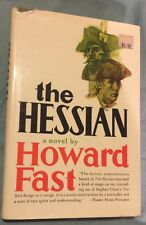 The Hessian : The Classic Novel by Howard Fast (HC, 1972) 1st Edition