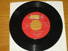 LOT of 5 FATS DOMINO 45 RPMs - RED IMPERIAL LABEL