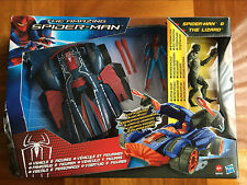 Hasbro The Amazing Spider-Man Spider Strike Vehicle & Figures Lizard Kids Toy