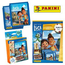 More details for panini - disney pixar luca sticker collection - packs, starter pack, multiset
