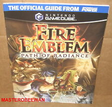 Fire Emblem: Path of Radiance Official Strategy Guide Book Brand New Gamecube GC