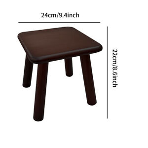 Round Shape Multifunction Small Seat Practical Children Wooden Stool Home Hotel
