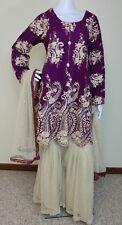Pakistani Indian Designer Party Wear gharara L, XXL