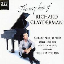 The Very Best of Richard Clayderman 3-CD Set