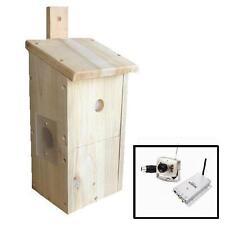 Caja De Aves / Nester / Casa Con Cámara Inalámbrica Kit-la vida silvestre Cam-Cedro