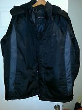 AWESOME SNOZU MEN'S WINTER COAT  BLACK LRG - NWT - Actually 3 Coats in one! WARM