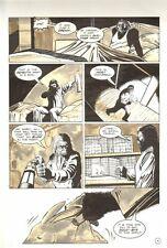 Planet of the Apes: Ape City #18 p.4 - Ape Nightmare - 1990 art by M.C. Wyman