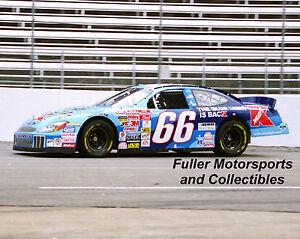 TODD BODINE 2001 #66 KMART BLUE LIGHT SPECIAL 8X10 PHOTO NASCAR WINSTON CUP