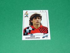 N°177 DOBROVOLSKIJ SNG ROSSIJA RUSSIE PANINI FOOTBALL EURO 92 UEFA 1992 SUEDE